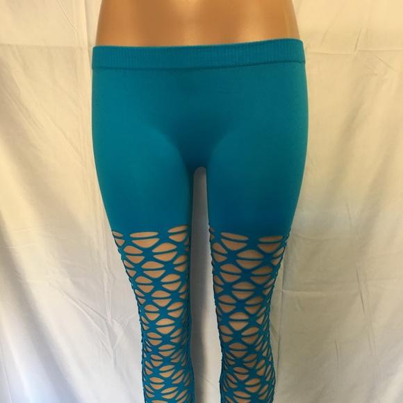 F & F Pants - Womens Cut out Leggings One Size Reg